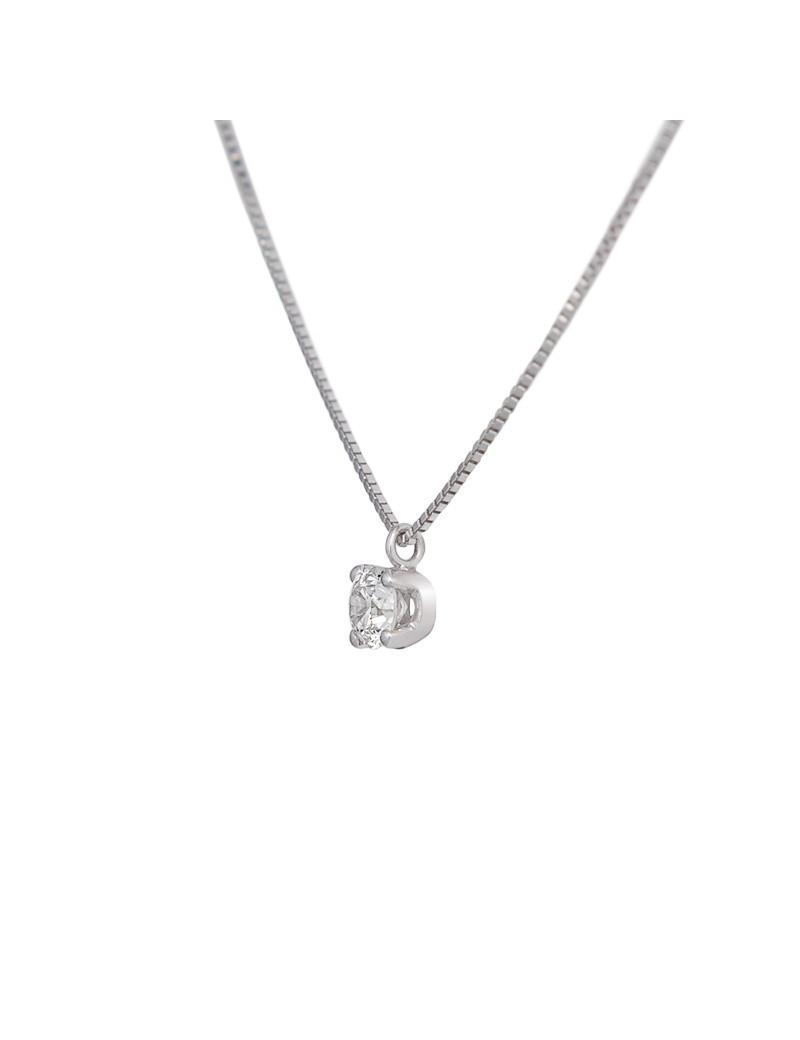 Cadena y Colgante Oro Diamante 0,31kts