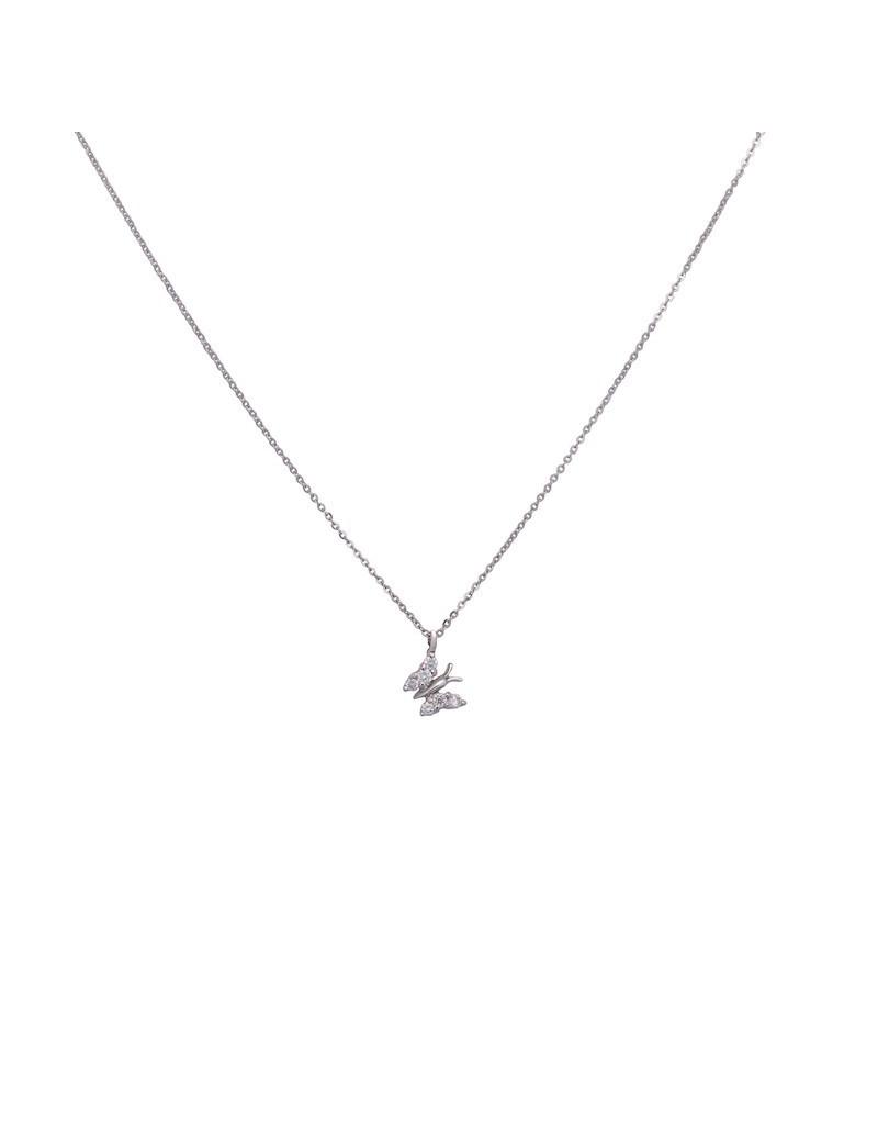 Cadena y Colgante Diamante Mariposa 0,11kts