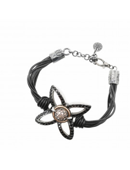 Pulsera Flor Dark Princess