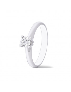 Anillo Solitario JULIET Diamante 018kts