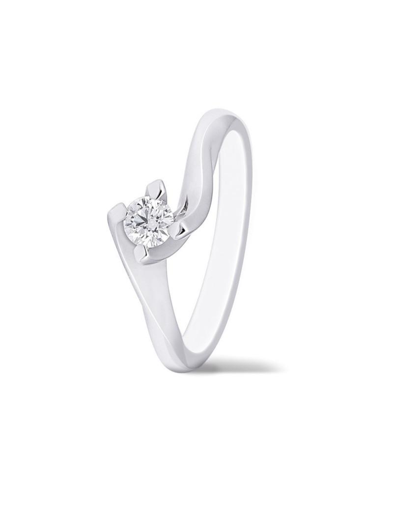 Anillo Solitario Diamante 0,46 Kts