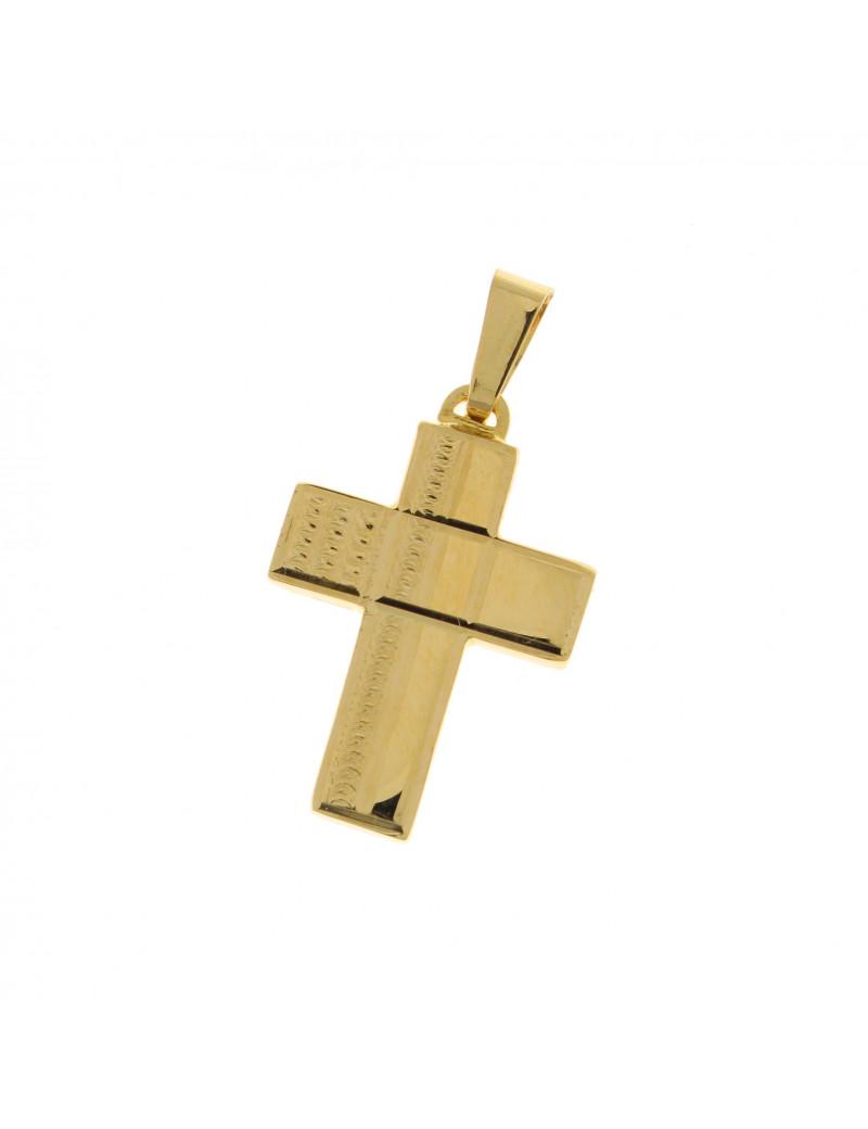 Colgante Comunión Cruz Oro