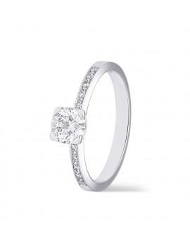 OLIVIA Solitario Diamante 0,65 kts