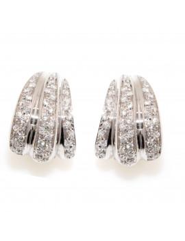 Pendientes Diamantes Gallones 0,92 Kts