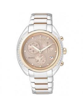 Reloj Citizen Mujer FB1385-53W Crono Diamantes