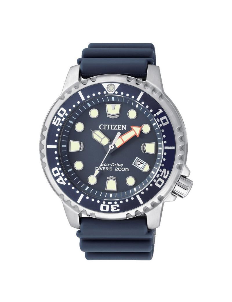 Reloj Hombre Citizen Eco Drive BN0151-17L Diver 200m