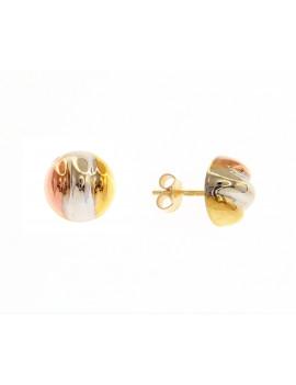 Pendientes Oro Tricolor Gallones