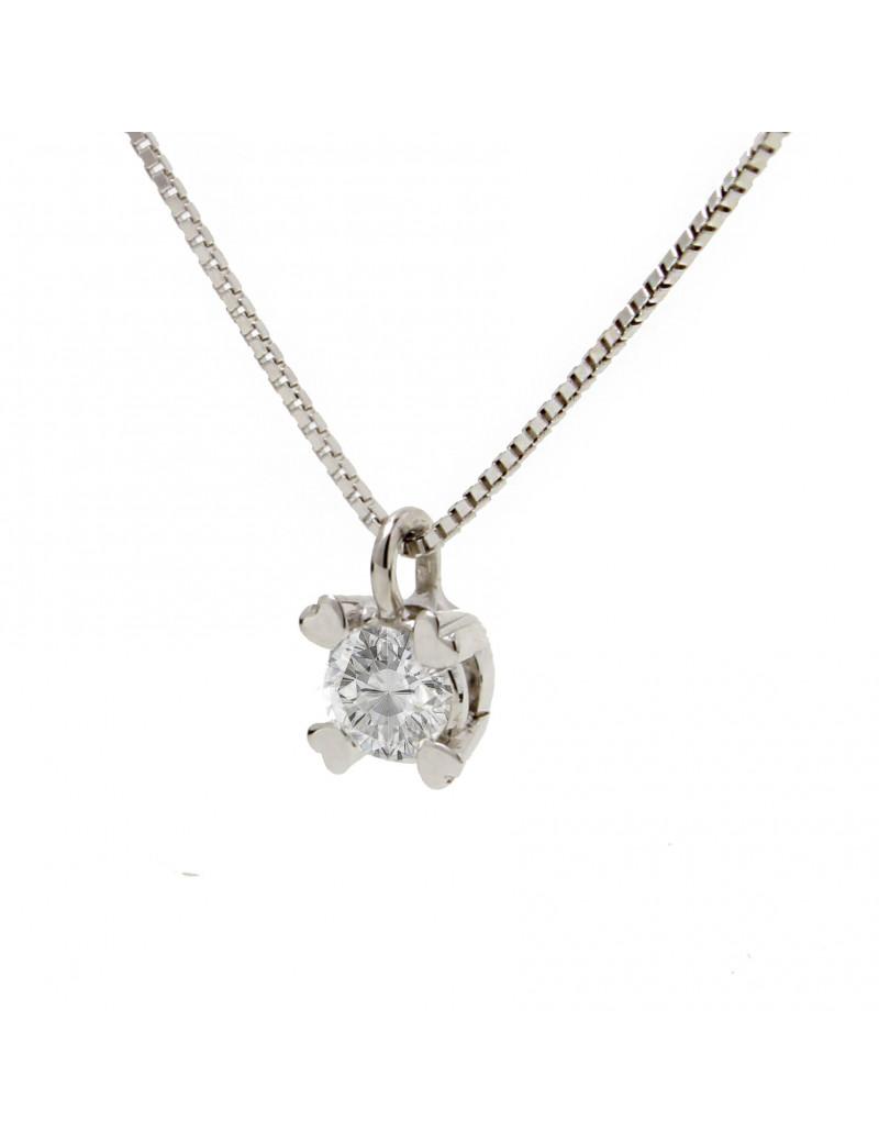 Colgante de Diamantes Corazones