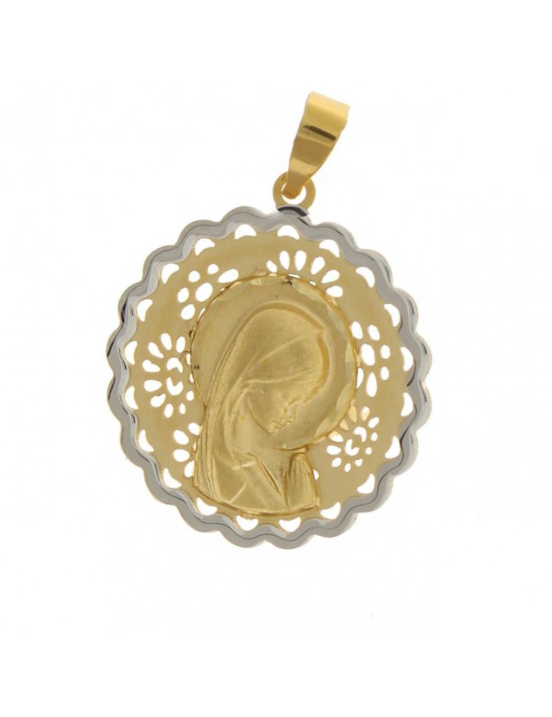 medalla virgen niña - medallas comunion alicante - comprar joyas comunion online - joyerias alciante - joyeria marga mira