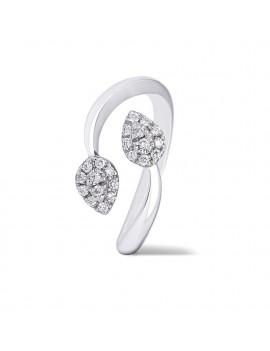 Anillo Espigas de Diamantes 0,15 kts