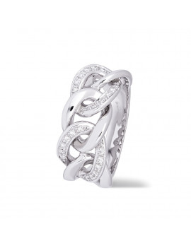 Anillo de Diamantes 0,20 KTS