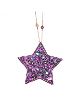 Collar Estrella Cristales...