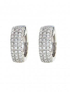 Pendientes Criolla Pave Diamantes