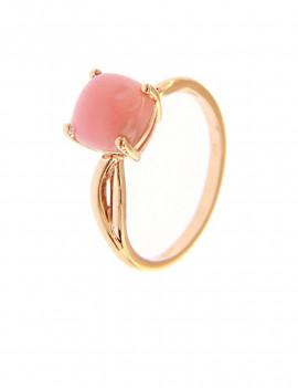 Anillo Oro Rosa con Opalo