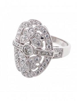 Sortija de Diamantes 0,93 Kts