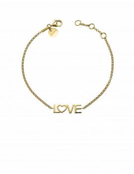 Pulsera LOVE Oro Amarillo