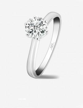 Stefany Solitario de Diamante