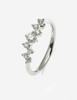Hydra Anillo de Diamantes