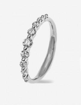 Ara Anillo Diamantes 0,39 KTS