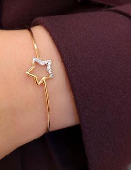 Pulsera Estrella Diamantes