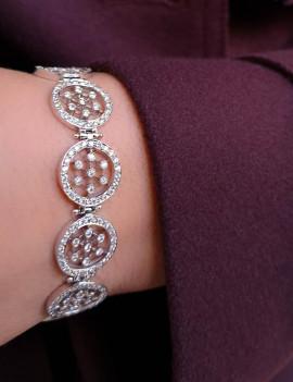 Pulsera Oro Diamantes