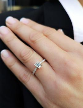 Anillo de Diamantes 0,68 kts