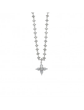 Collar de Plata con Estrella Circonita