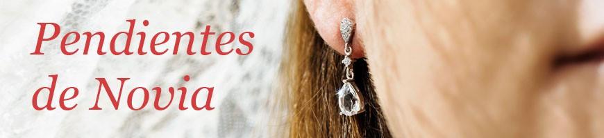 Pendientes para novias y Pendientes de perlas para novias