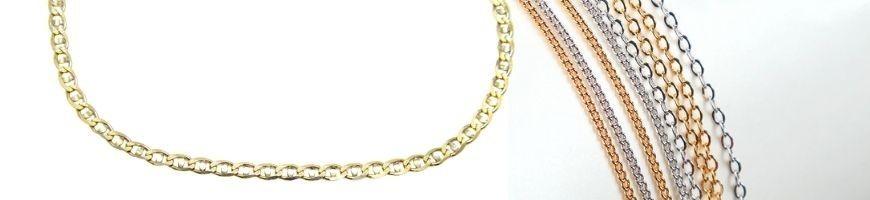 Cadenas y Cordones de Oro 18k | Joyería Marga Mira