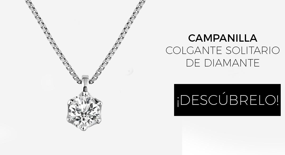 collar mujer oro blanco diamante - mejores joyerias online españa - joyeria marga mira