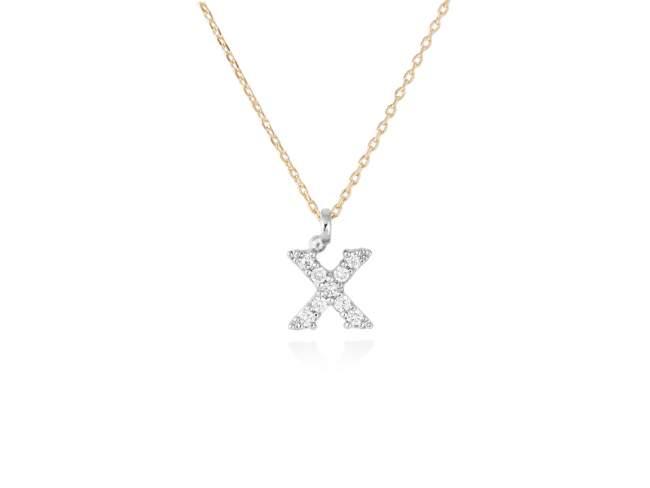 letra X inicial diamantes - joyas con letras de diamantes - mejores joyerias online españa -joyeria marga mira
