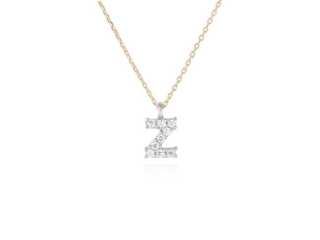 letra Z inicial diamantes - joyas con letras de diamantes - mejores joyerias online españa -joyeria marga mira
