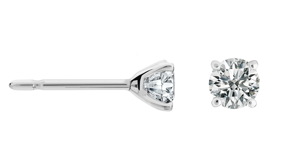 yulia pendientes dormilonas diamantes - diamond earrings - best  online jewelries spain
