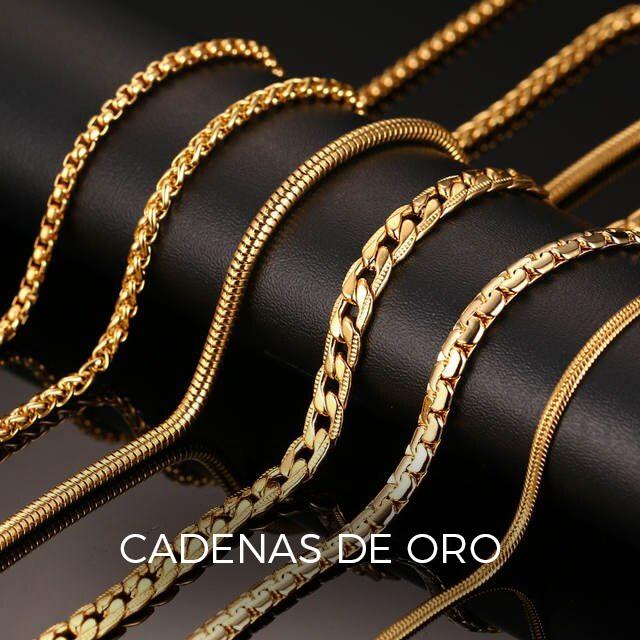 cadenas de oro hombre gruesas - cadenas de oro para hombre - cadenas de oro macizo - cordon de oro hombre - alicante joyeria marga mira