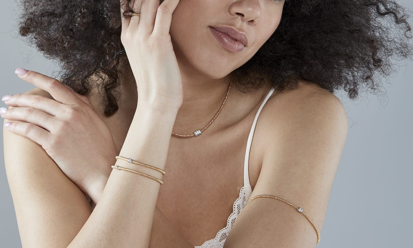 donde comprar online joyas magicwire mejor precio - extraglitter anillos pulseras colgantes oro - joyas mujer flexibles - joyeria marga mira