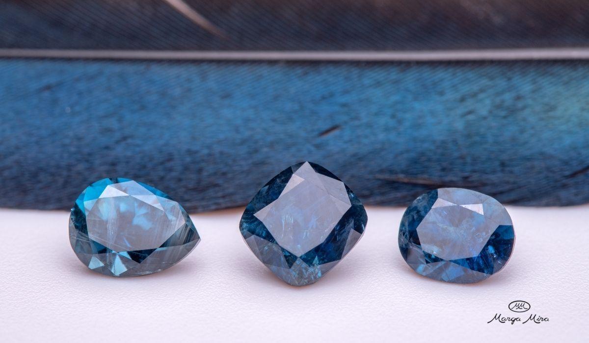 joyas zafiro . donde comprar joyas zafiro azul online - joyeria marga mira