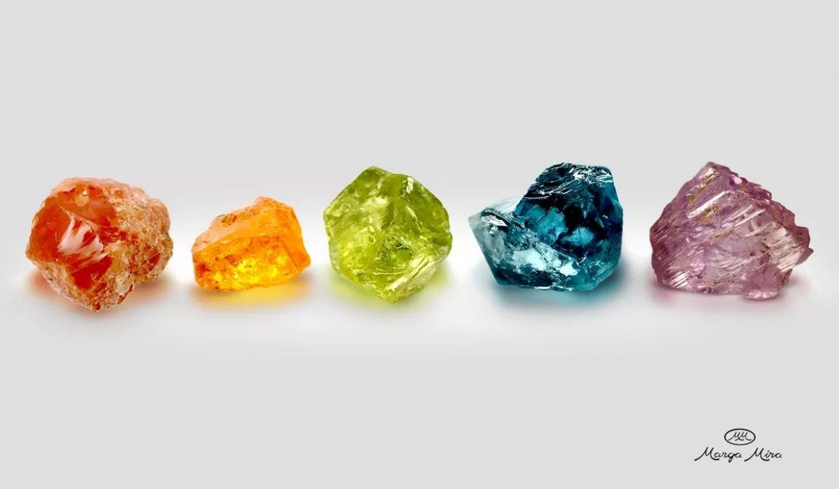zafiros de colores - donde comprar online joyas zafiro - joyeria marga mira